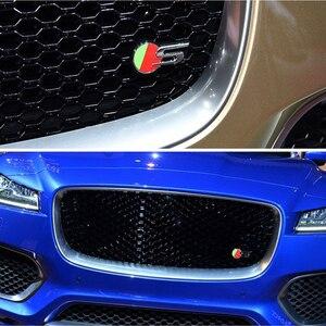 AQTQAQ 1 шт. 3D Металл 25T 35T AWD автомобильный боковое крыло задний багажник эмблема значок наклейки для Jaguar F-PACE, аксессуары украшения