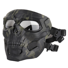 Airsoft Paintball CS Game Mask Tactical Full Face Skull Mask Army Outdoor Hunting Protective Masks