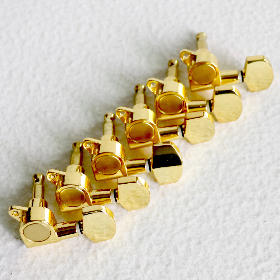 Electric Guitar Gold Sealed Guitar String Tuning Pegs Tuners Machine Heads 6L New