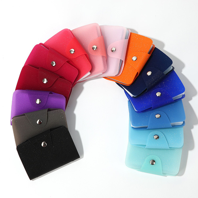 2019 New Comes Flaring Colourful ID Credit Card Holder Organizer Pocket Name Business Card Holders 24 Slots For Men And Women