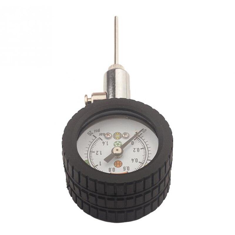 Ball Barometer Pressure Gauge Pointer Football Basketball Volleyball Pressure Gauge