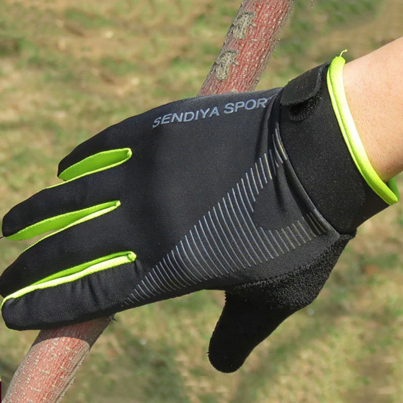 Bicycle Bike Cycling Gloves Breathable Full Finger Touch Screen Non Slip Sports