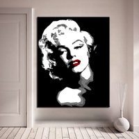 Monroe enchantment DIY Painting By Numbers Kits Calligraphy Painting Acrylic Paint By Number For Home Decoration A work of art
