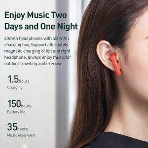 Image 5 - Baseus W09 TWS אלחוטי Bluetooth אוזניות סטריאו Bluetooth 5.0 אוזניות ספורט אמיתי אלחוטי אוזניות אוזניות עבור טלפון Xiaomi