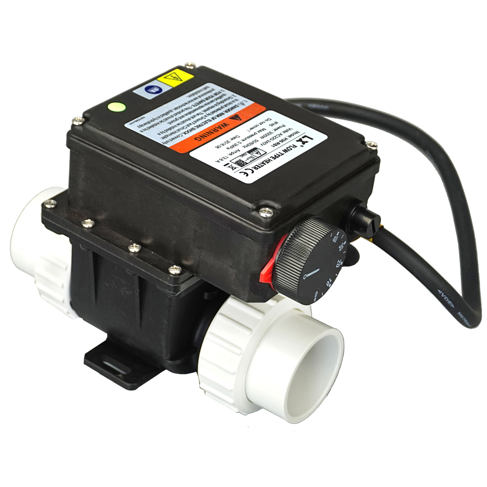 China LX H30 RS1 3kw Elektrische spa heizung mit Temperatur Controller für badewanne & whirlpool spa pool 3000W wasser heizung-in Erzeugung von Strom aus Heimwerkerbedarf bei AliExpress - 11.11_Doppel-11Tag der Singles 1