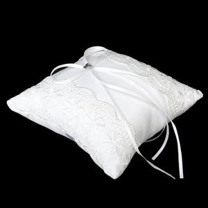 Image 3 - Lace Flower Ring Bearer Pillow Cushion Decorated Bridal Wedding Ceremony Pocket Wedding Accessories Decoration