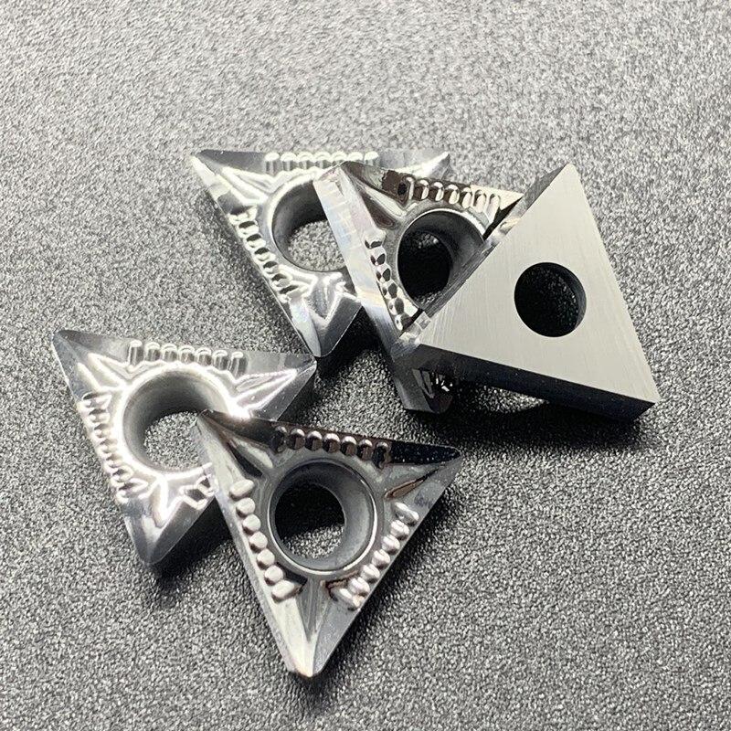 Купить с кэшбэком TCGT16T304 AK H01 TCGT16T308 AK H01 Aluminum cutter blade Insert Cutting Tool turning tool CNC Tools