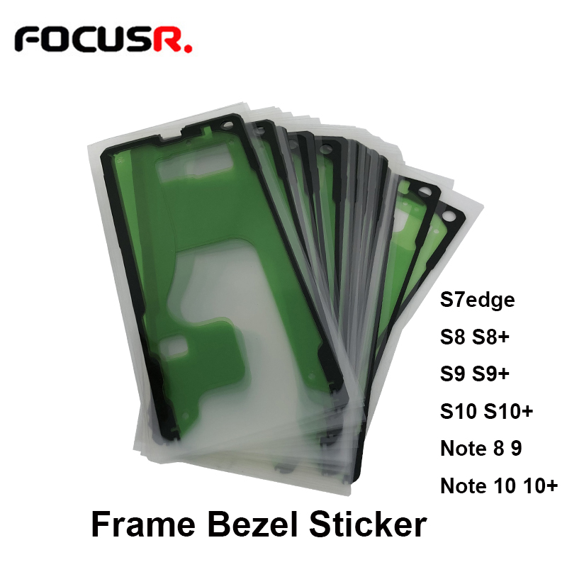 <font><b>LCD</b></font> Screen <font><b>Frame</b></font> Bezel Sticker <font><b>LCD</b></font> Adhesive For <font><b>Samsung</b></font> <font><b>S7</b></font> edge <font><b>LCD</b></font> S8 S8+ S9 S9+ S10 S10+ Note 8 9 10 Mobile Phone <font><b>LCD</b></font> Screens image