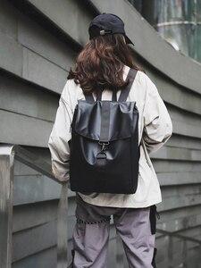 Image 3 - ファッション女性バックパッククールオックスフォード布ユニセックス高品質bagpackシンプルなバッグ防水毎日バッグ頑丈なトレンド黒ゴールド