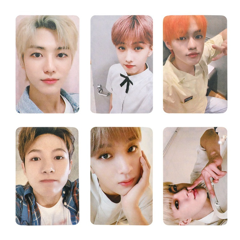6Pcs/set K-POP NCT127 NCT DREAM Lomo Cards Poster Self Made Paper Photo Cards Fans Gift Collection