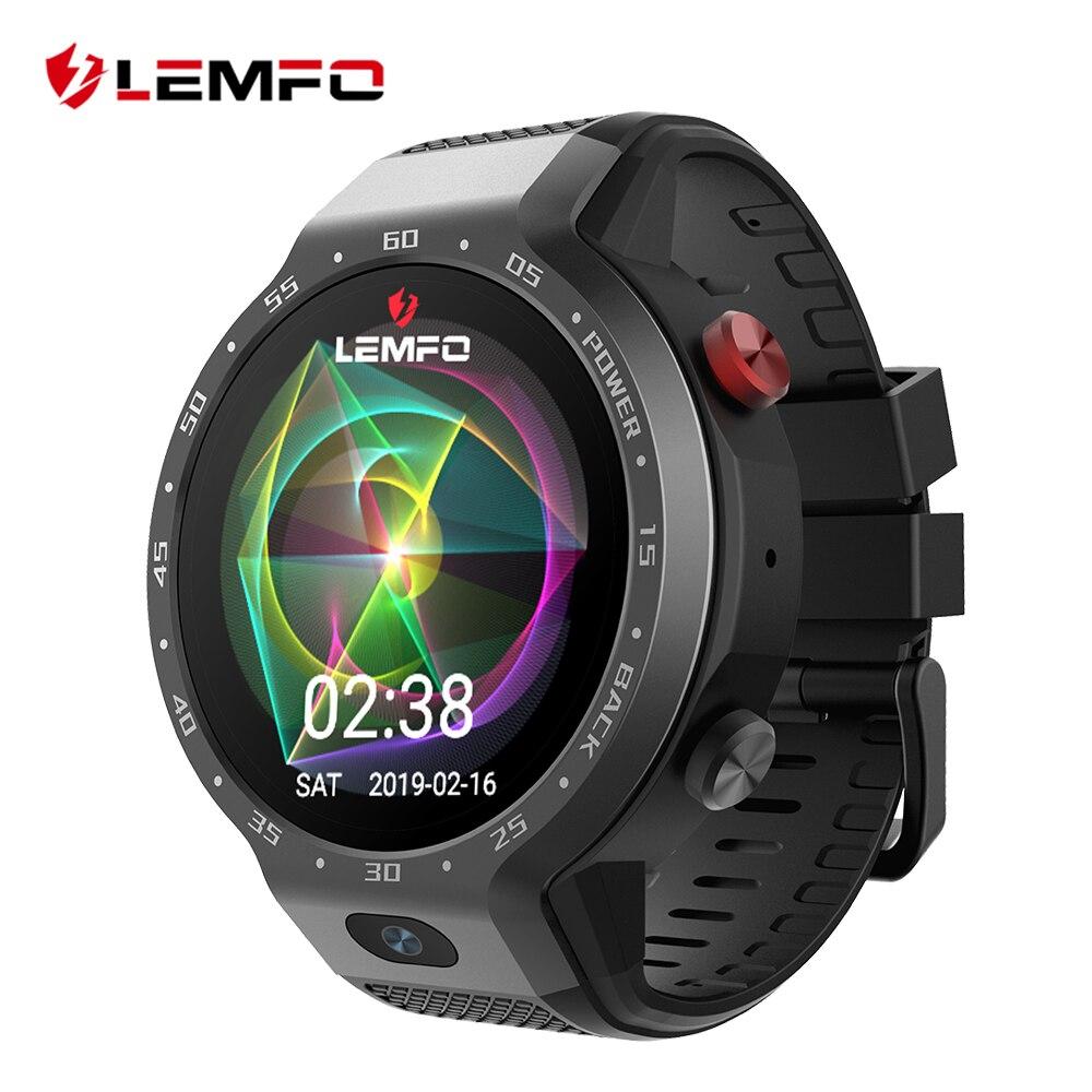 LEMFO LEM9 ระบบ Dual 4G สมาร์ทนาฬิกา Android 7.1 1.39 นิ้ว 454*454 จอแสดงผล 5MP กล้องด้านหน้า 600 mah แบตเตอรี่ Smartwatch ผู้ชาย-ใน นาฬิกาข้อมืออัจฉริยะ จาก อุปกรณ์อิเล็กทรอนิกส์ บน AliExpress - 11.11_สิบเอ็ด สิบเอ็ดวันคนโสด 1