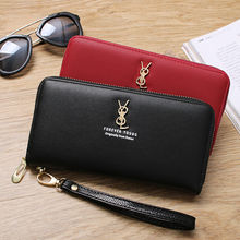 luxury handbags women bags designer wallet women mobile phone bag female card PU leather long wallets and purses Ladies clutches
