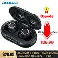 Doogee Dopods Bluetooth 5 0 Hi-Fi Beat наушники TWS CVC 8 0 наушники с QCC3020 APTX 24H Play time Voice Assistant IPX5