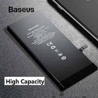 Baseus para iphone 6s 6 plus 6s mais bateria 2200 mah 3500 mah alta capacidade substituição telefone bateria com kit de ferramentas reparo gratuito