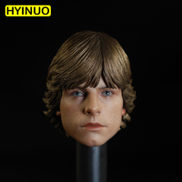 Custom 1/6 Scale Male Man Boy Hope Luke Mark Hamill Head Sculpt Headplay for 12 Action Figure Body
