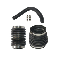 875822 876294 876631 Rubber Replacement Easy Use Accessories Bellow Kit Exhaust Auto Water Hose For Volvo Penta AQ200 280 290