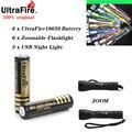 2/4/6 шт./лот 18650 батареи высокое качество 18650 4000mAh 3,7 V защищенный PCB Перезаряжаемые литий ионный батареи