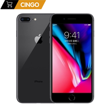 Original desbloqueado apple iphone 8 plus/iphone 8 3gb ram 64gb/256gb rom hexa núcleo 5.5