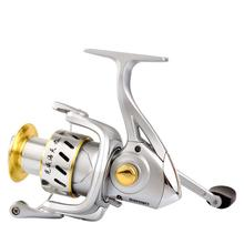 1000-6000 5 + 1 5.2:1 6 High Speed Bearings Fishing New High Quality Spinning Fishing Reel 5+1BB Saltwater Metal Fishing Reel 12 1bb 5 2 1 full metal spinning fishing reel super amg3000