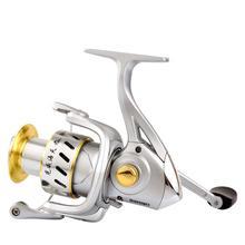 1000-6000 5 + 1 5.2:1 6 High Speed Bearings Fishing New High Quality Spinning Fishing Reel 5+1BB Saltwater Metal Fishing Reel каталка everflo м002 1 красный от 3 лет металл м002 1