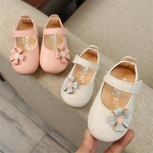 Toddler Infant Kids Baby Shoes Little Girls Flowers Princess Shoes Flat Heels Casual Sandals girls sandals for kids