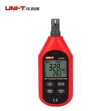 купить UNI-T UT333/UT333BT(Bluetooth) Mini Temperature Humidity Meter Indoor Outdoor Hygrometer LCD Backlight дешево