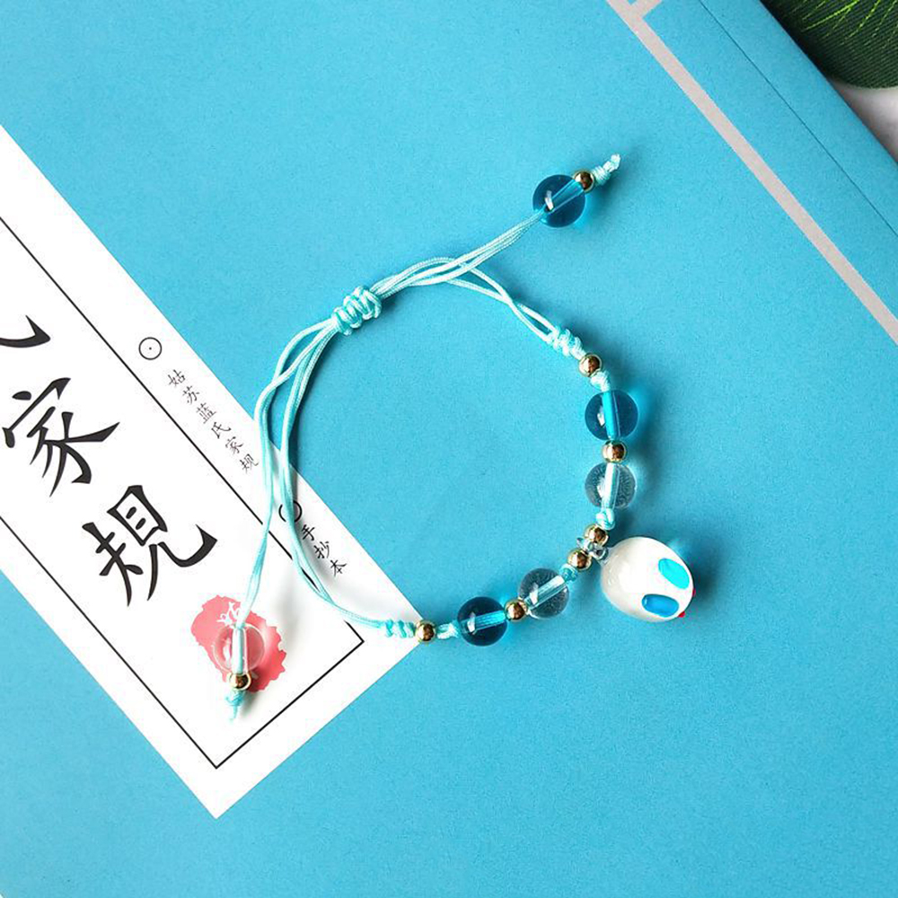 Mo Dao Zu Shi Handmade Beads Bracelet Jewelry Accessories Chen Qing Ling Bracelet Wei Wuxian Gold Beads Bracelets DIY Toys New
