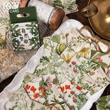 46 teile/schachtel Nette Gehen An Den Strand Mini Handgemachte papier aufkleber Tagebuch Scrapbooking Dekorative DIY Aufkleber Schreibwaren