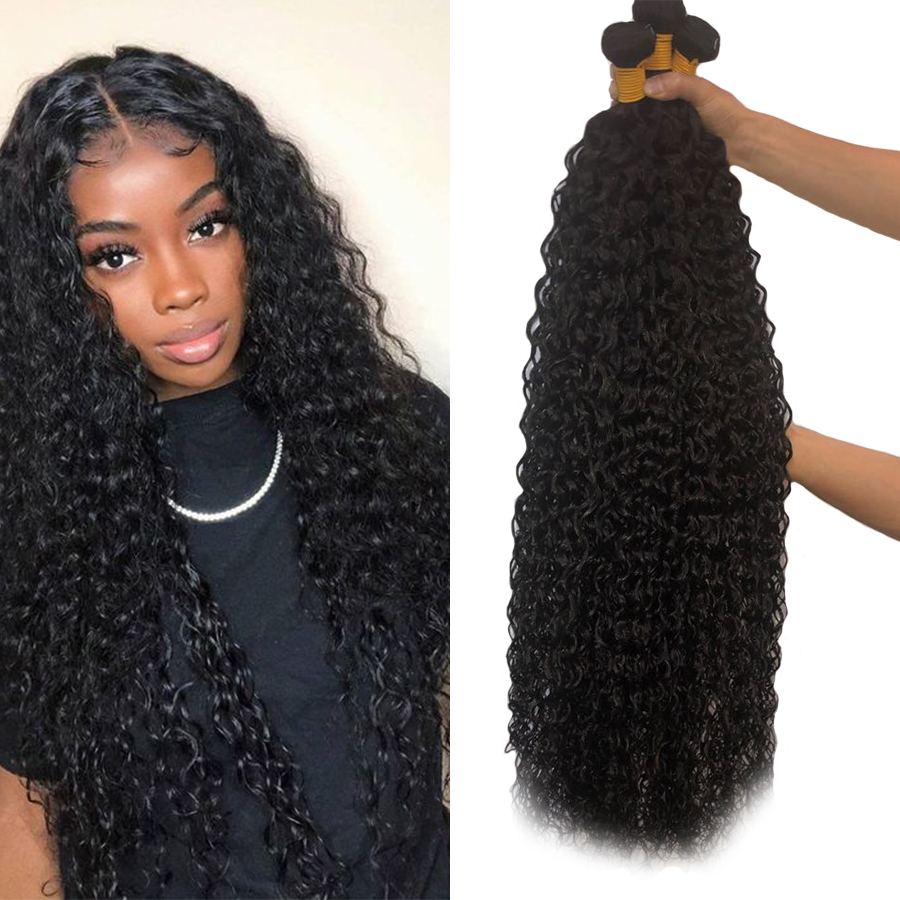 Alianna Weave Bundles Remy-Hair 8-40inch Thick 1/3/4pcs