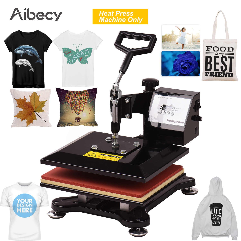Aibecy 10x12 Zoll DIY Schaukel Weg Combo Digital Wärme Drücken Thermische Transfer Maschine für T-Shirt Kleidung Telefon Fall tasche