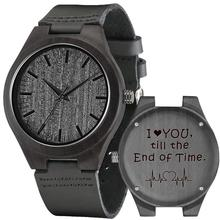 Shifenmei Watches Men Wooden Engraving Wristwatch Quality Special Family Gifts C