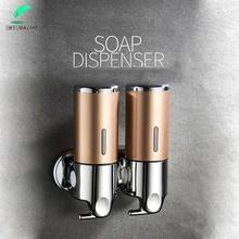 Hotel hotel household soap dispenser bathroom hand sanitizer bottle press bathroom shampoo shower gel box wall hanging