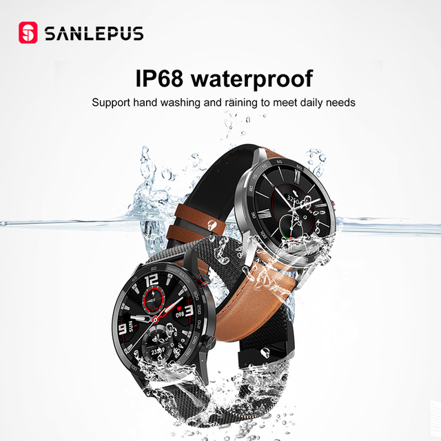 2020 SANLEPUS ECG montre intelligente Bluetooth 5