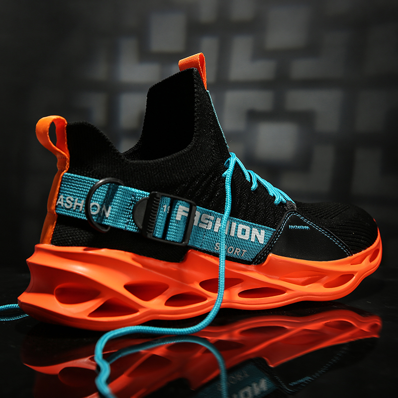 Super Light Men Running Shoes Cushion Breathable Footwear Comfortable Outdoor Sports Sneakers Athletic Jogging Shoes Multicolor