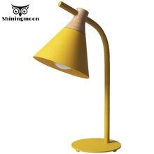 цены Modern Led Table Lamp Children Bedside Lamp Study Office Desk Light Bedroom Desk Lamp Iron Black Table Lights Business Desk Lamp