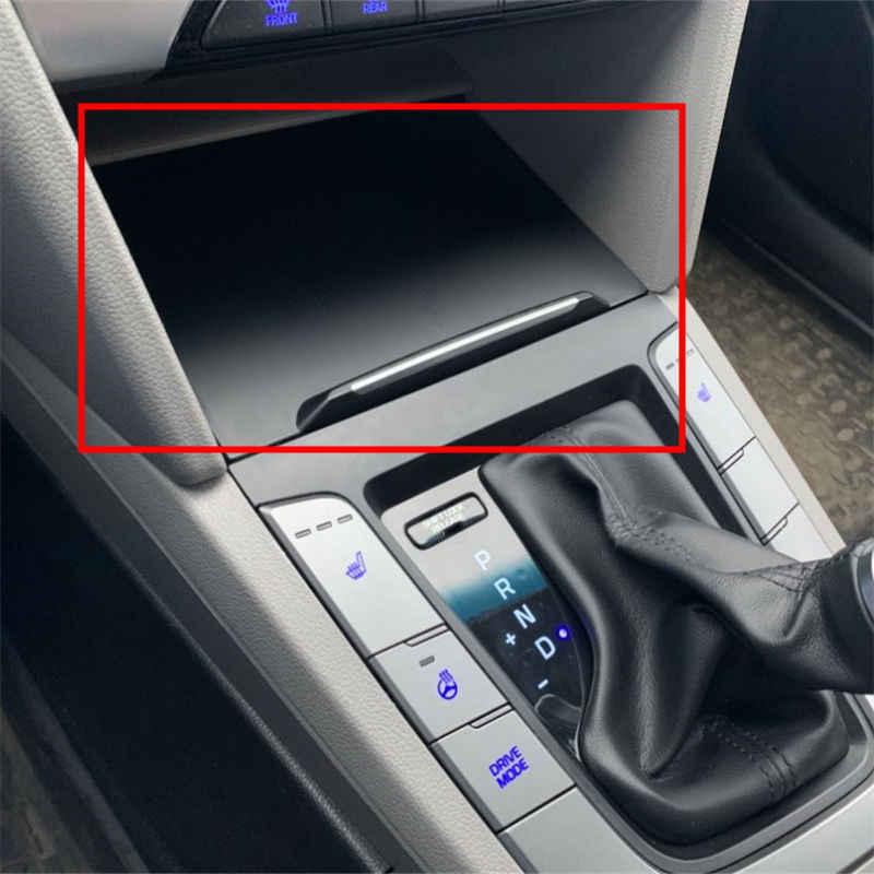 Hyundai Elantra 2016-2018 coffret de rangement | Centrale, interface USB, base d'alimentation, allume-cigare, ensemble de sièges