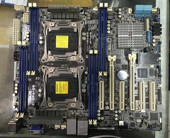 Z10PA-D8 server board C612 chip dual server motherboard support E5 26XX V3 V4 CPU  used 90%new