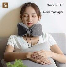 Youpin LF almohada de masaje de cuello Original, cuello Relax masajeador de terapia muscular almohada de sueño para oficina, hogar y viajes.