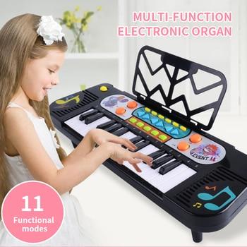 New Children Baby Multifunctional Piano Keyboard 25 Keys 1-10 Year Old Kids Girl Boy Gift Early Educational Music Mini Piano Toy