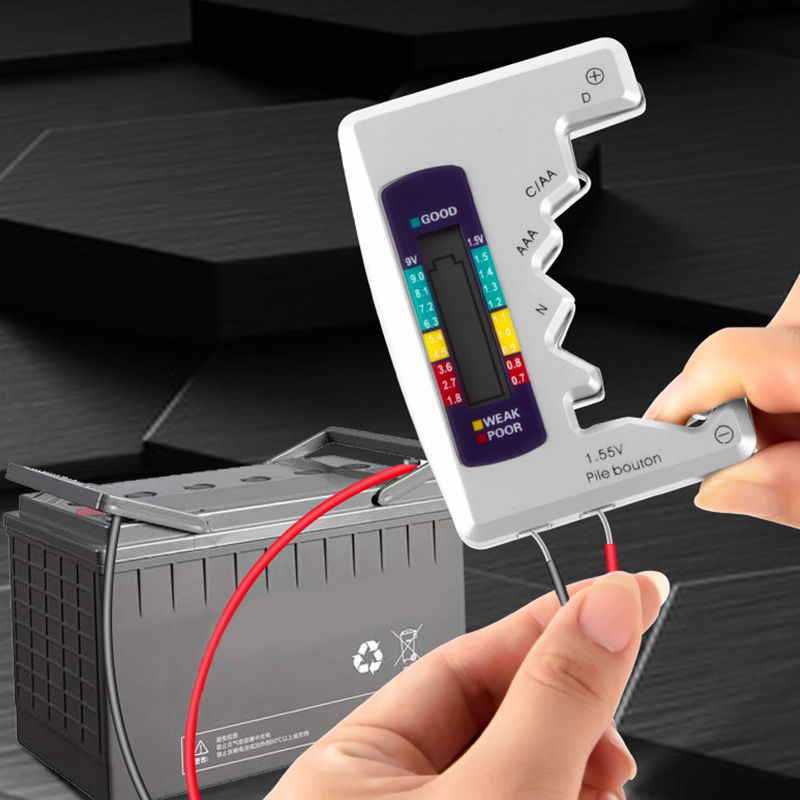 Spirited Digital Display Battery Detector, Battery Tester, Battery Power Detector, Dry Battery, Digital Display, Voltage Measuring Device At All Costs