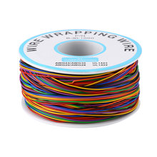 Bunte P/N B-30-1000 280M 8-Draht Farbige Isolierung Wrapping Kupfer Test Kabel