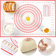 Non-Stick-Flour Baking-Mats Glass Dough-Pad Pastry Kitchen Silicone with Scale for Oven-Liner