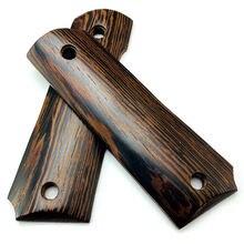 2 шт пистолет 1911 захваты натуральные куриные крылья деревянные