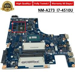 I7-4510U Z50-70 płyta główna laptopa dla Lenovo Z50-70M G50-70 płyta główna ACLUA/ACLUB NM-A273