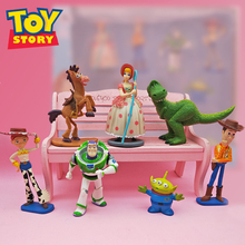 7piece/pack 4-8cm 2019 Toy Story 4 PVC set  Action Figure Woodys girlfriend shepherdess Figures Model Doll