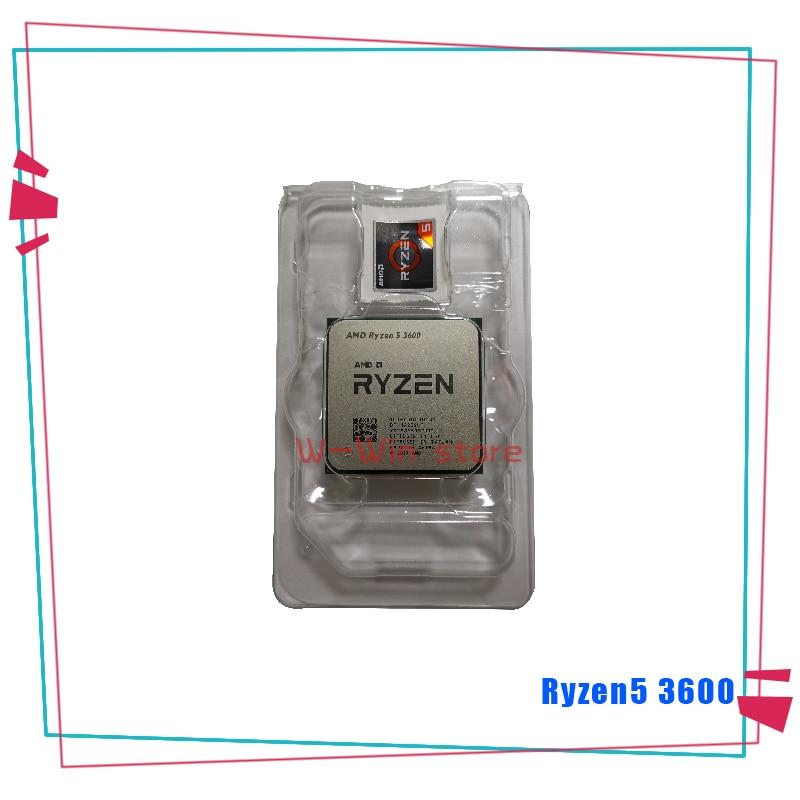 Image 2 - NEW AMD Ryzen 5 3600 R5 3600 3.6 GHz Six Core Twelve Thread CPU Processor 7NM 65W L3=32M 100 000000031 Socket AM4  With FanCPUs   -