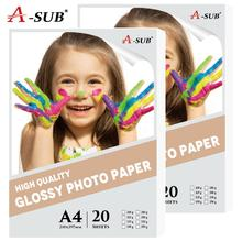 20 sheets A4 Photo-Paper Glossy Inkjet Printing For Inkjet Printer Photographer imaging printing paper