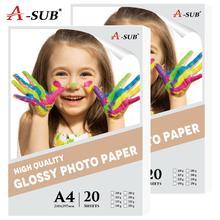 20 sheets A4 Photo-Paper…