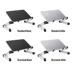 Image 3 - Portable Foldable Laptop Holder Adjustable Notebook PC Monitor Riser Stand