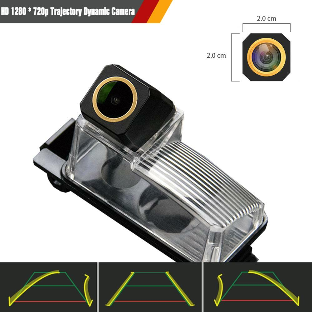 Upgraded Reversing Camera 1280x720p Camera Integrated in Number Plate Light License Rear View Backup camera for Nissan 350Z 370Z Versa Tiida Sentra Cube GT-R Leaf